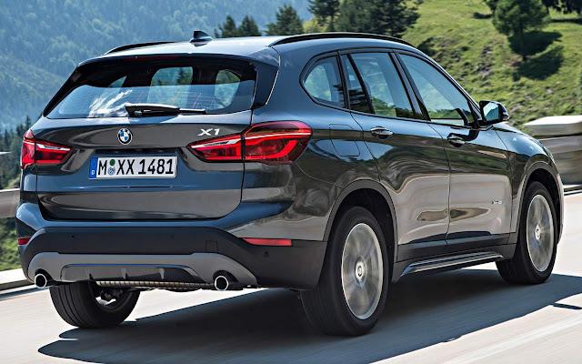 Novo BMW X1 2016