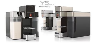 Máquinas de café Illy Y5 Milk