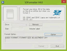 Cara Format SD Card microSD menggunakan SD Formatter