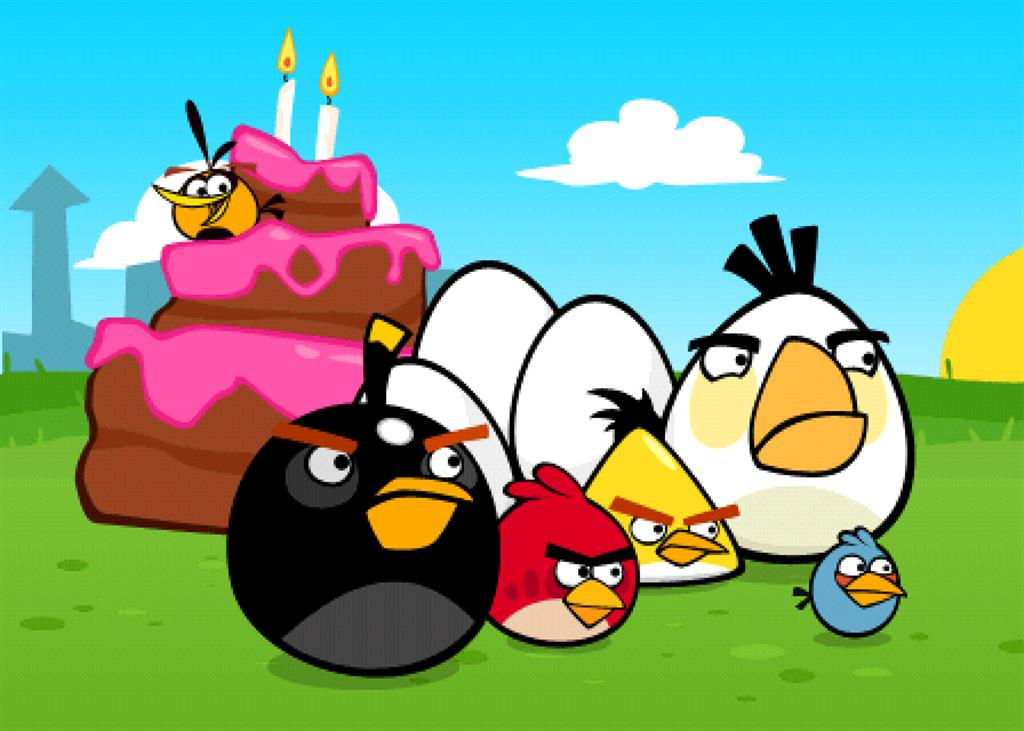 Entree Kibbles: Angry Birds Original (Birdday Party) for ...