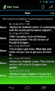 puzzle & dragons tools android