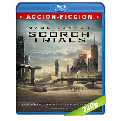 Maze Runner Prueba De Fuego (2015) BRRip 720p Audio Trial Latino-Castellano-Ingles 5.1