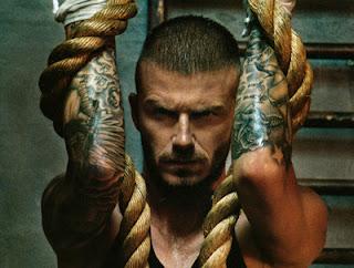 beckham tattoos, tattooing