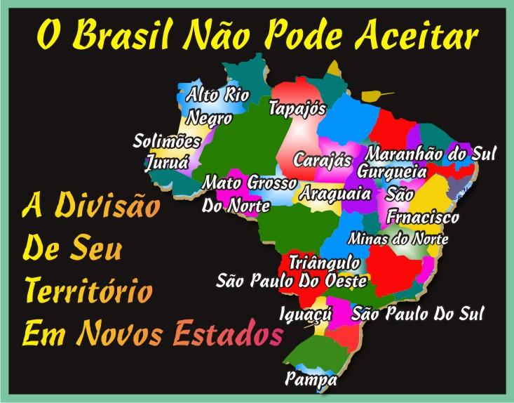 O Brasil Não Pode Aceitar
