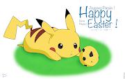 Happy Easter ! happy easter pikachu by raedesignda zu rt