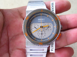 SEIKO CHRONOGRAPH SOFT GREY GREY DIAL - DESIGN BY GIUGIARO PART B - LIMITED EDITION 1192 / 2500-NEW
