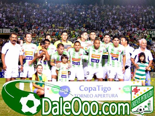 Oriente Petrolero - Plantel 2014 - Oriente Petrolero vs Bolívar - DaleOoo.com página del Club Oriente Petrolero