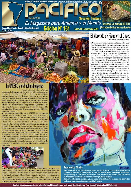 Revista Pacífico Nº 161 Turismo