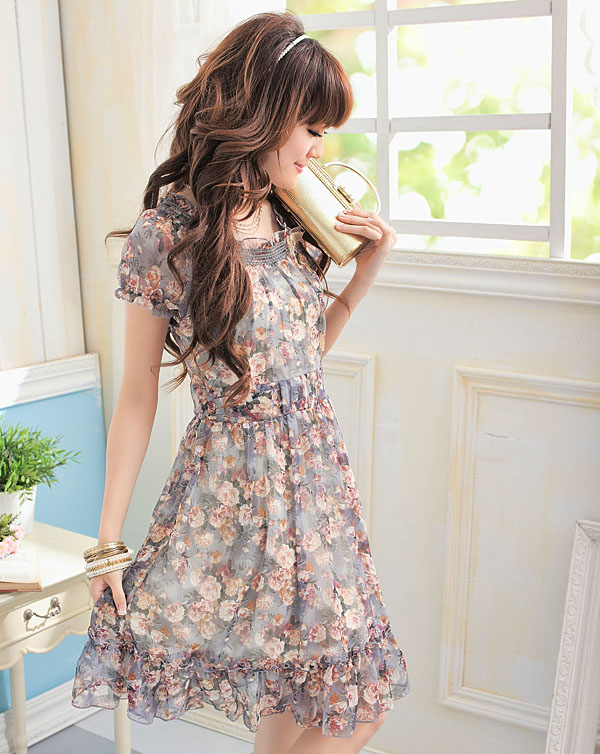 Fashion And Style Cute Japanese And Korean Dresses