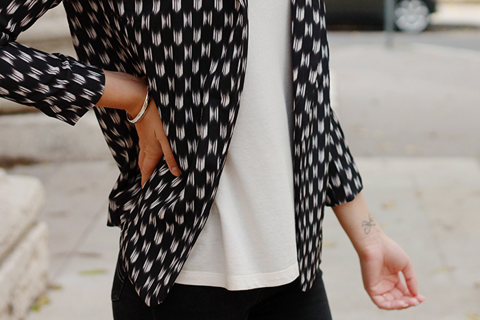 print blazer
