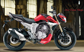 Modifikasi New Scorpio Z Street Fighter