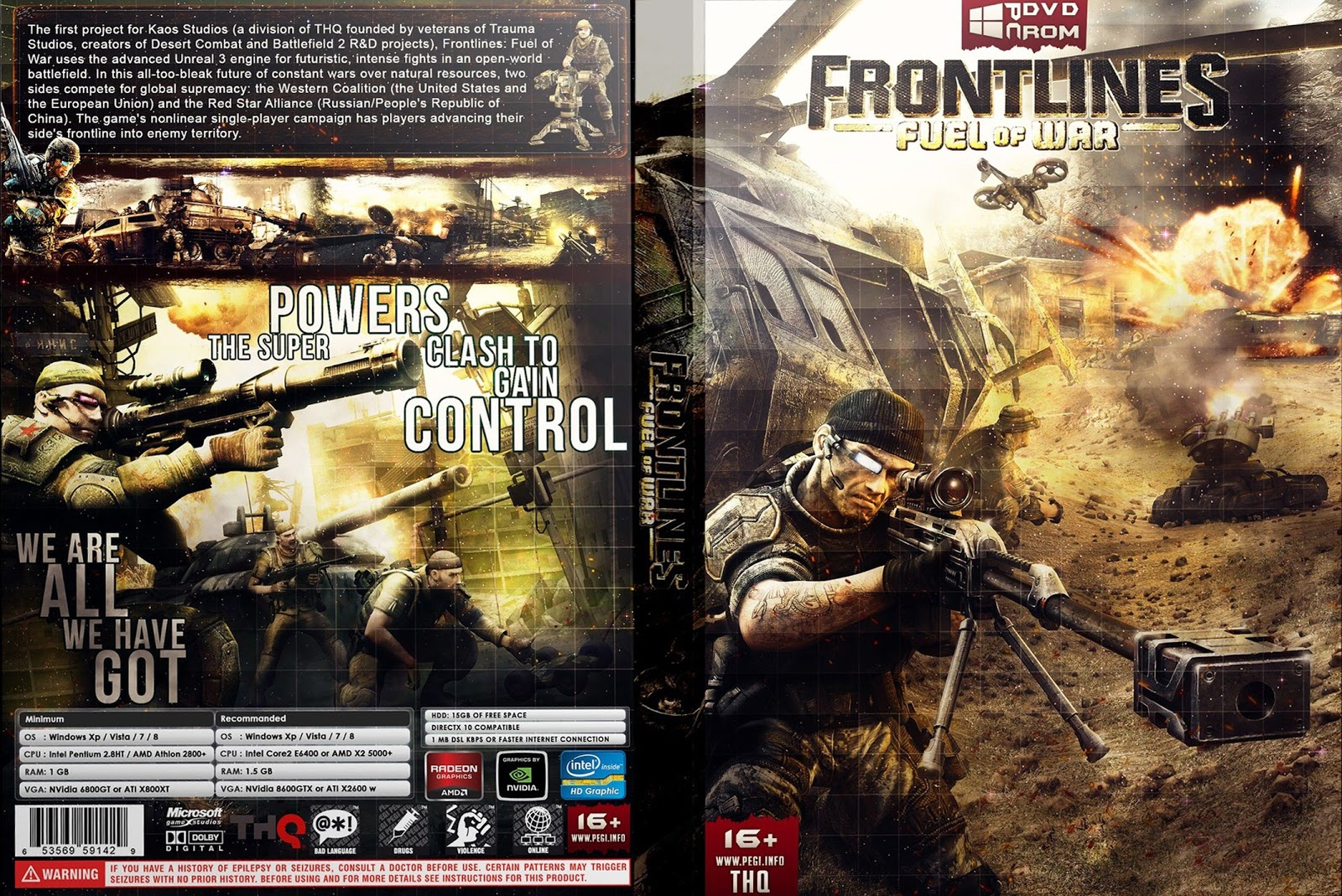 Capa Frontlines Fuel Of War PC