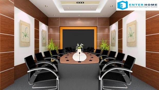 enterhome thiết kế nội thất văn phòng đẹp nhất