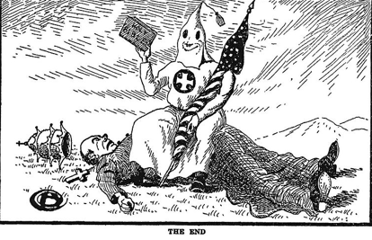 the use of protestant religion by ku klux klan members essay The reemergence of the kkk the members of the ku klux klan were mostly white protestant middle-class men protestant ministers.