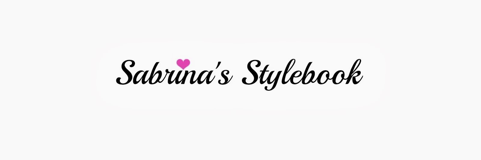 Sabrina's Stylebook