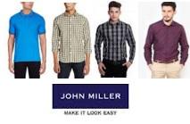 John Miller shirts and tshirts at 60%