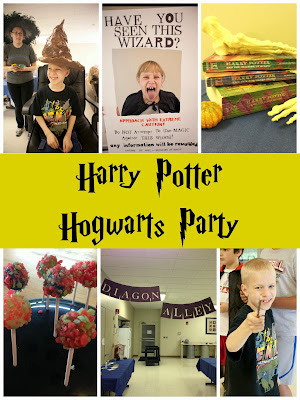 Harry Potter Hogwarts Party. SO fun! Lots of great ideas! #harrypotter #party #hogwarts