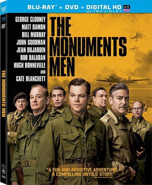 The Monuments Men (Operación Monumento)(2014) m720p BDRip 3.1GB mkv Dual Audio AC3 5.1 ch