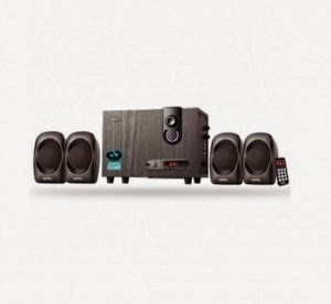 Flipkart: Buy Zebronics SPK-SW2950RUCF Wired Home Audio Speaker(Black, 4.1 Channel) at Rs.1500