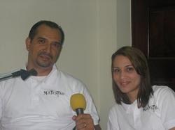 Edwin Almonte y Merary Nonón