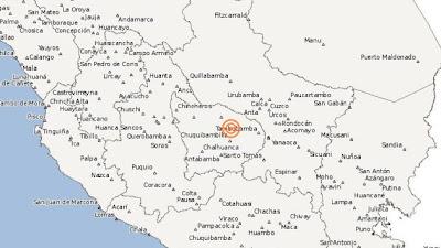 SISMO 5,7 GRADOS EN SURESTE DE PERU REGISTRADO EL 21 DE MAYO 2013