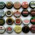 Μαγνητάκια ψυγείου από καπάκια μπύρας - beer caps magnets