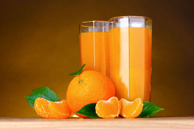 Jugo de naranja - Orange juice - Fotos de Stock