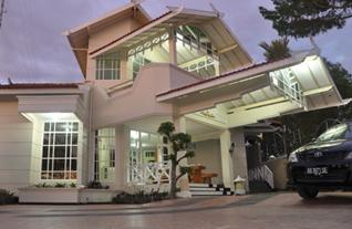 Villa di kaliurang Yogyakarta