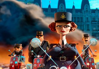 Officer DuBois in Madagascar 3: Europe's Most Wanted http://disneyjuniorblog.blogspot.com/2012/12/madagascar-3-europes-most-wanted-2012.html
