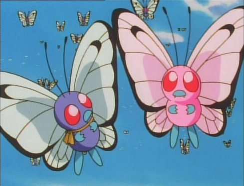 pokémon by review 10 12 caterpie metapod butterfree