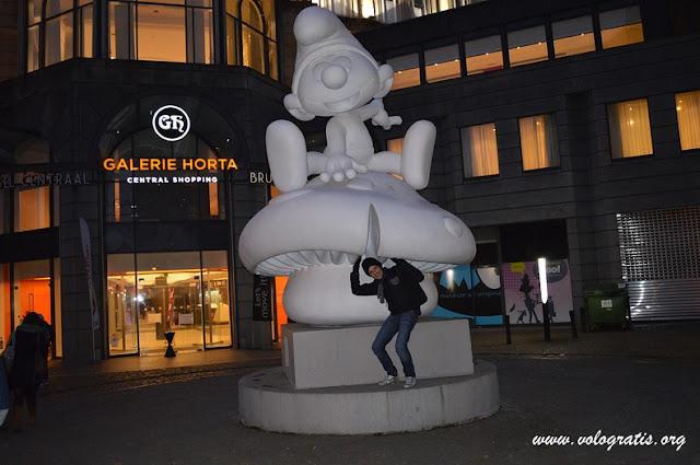 puffi diario di viaggio a Bruxelles