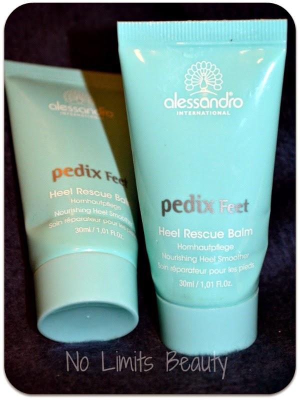 Pedix Feet Heel Rescue Balm de Alessandro