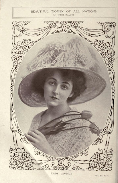 an irish beauty lady levinge 1910s