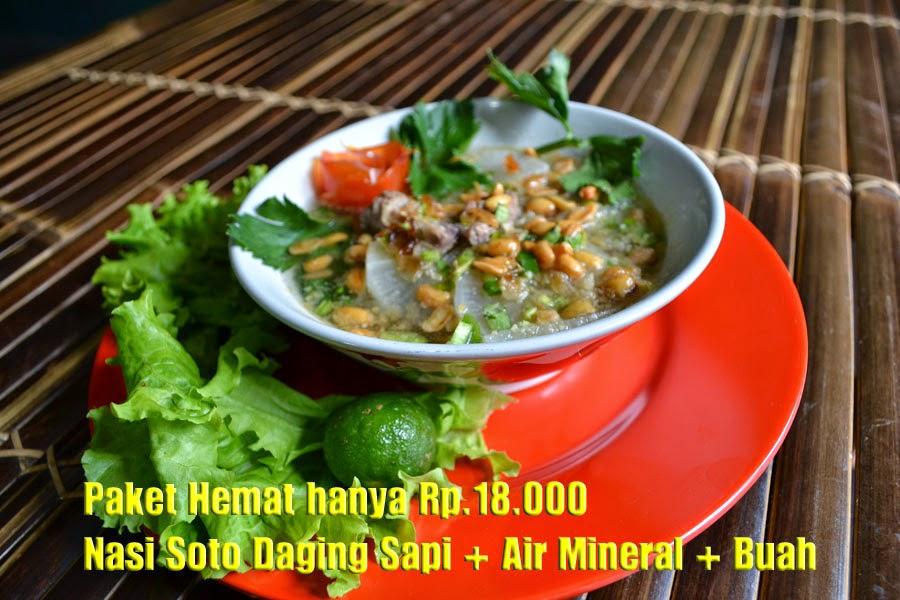 Soto Bandung di Rumah Makan Ciwidey