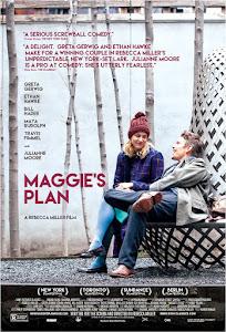 Maggie's Plan Poster