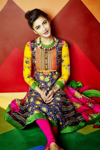 Shruti Hassan Poses For Shoppers Stop Photos