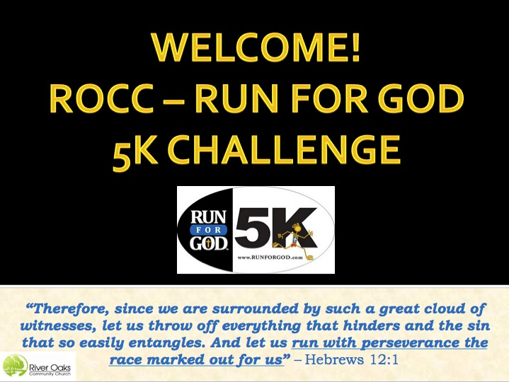 running with horses rocc run for god yes you can week 8 rh runningwithhorses com Risc V Rocc rocc study guide
