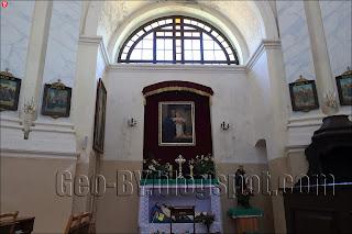 Внутри костела Матери Божьей Шкаплерной
