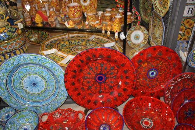 ceramiche siciliane a taormina
