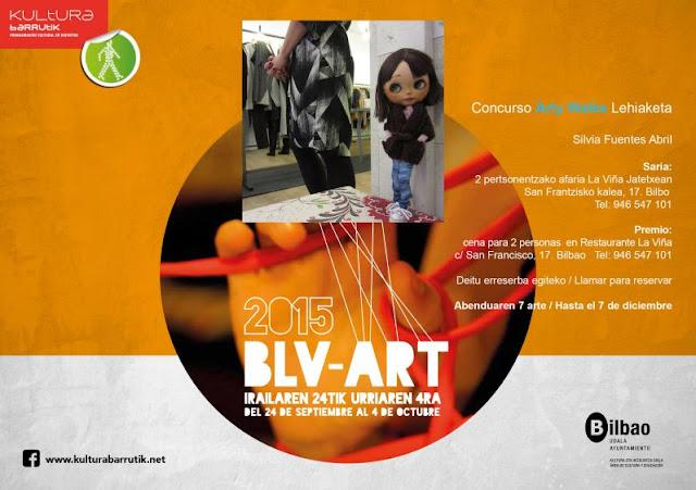concurso Arty Walks de kultura barrutik Bilbao