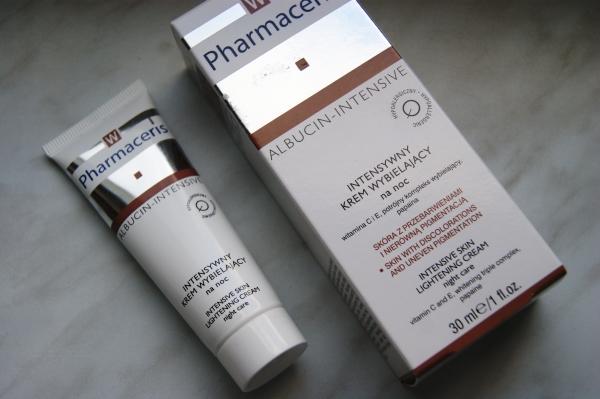 Pharmaceris i wybielanie przebarwień - Intensywny krem wybielający na noc