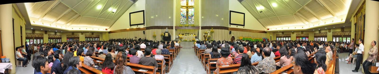 Misa Akbar Pesta Nama - 13 Juli 2014
