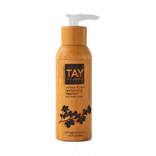 TAY, TAY skincare, TAY cleanser, cleanser, skin, skincare, skin care, TAY Sunflower & Grape Revitalizing Cleanser with Shea Butter