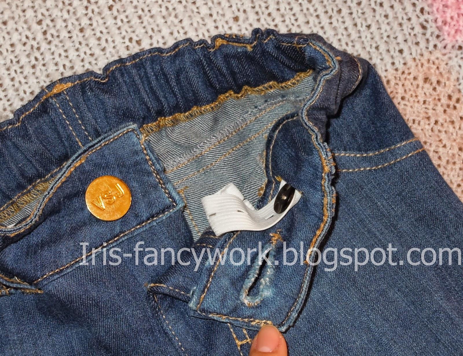 Как сшить джинсы с молниями на карманах