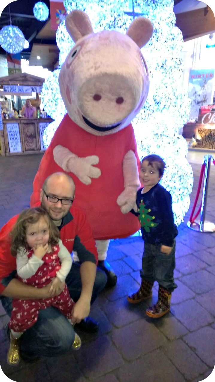 Peppa Pig at Chill Factore Christmas 2014