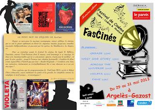Festival de cinéma : FasCinés 2013 Argeles Gazost