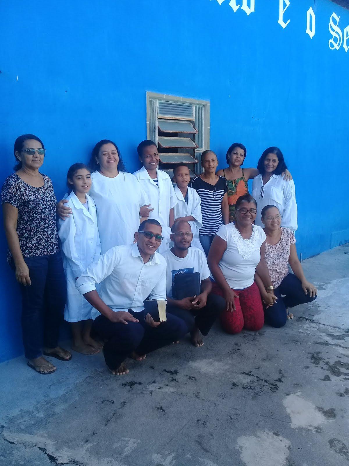 Batismo da IBMSJ bênção de Deus aconteceu em 27 de novembro 2017