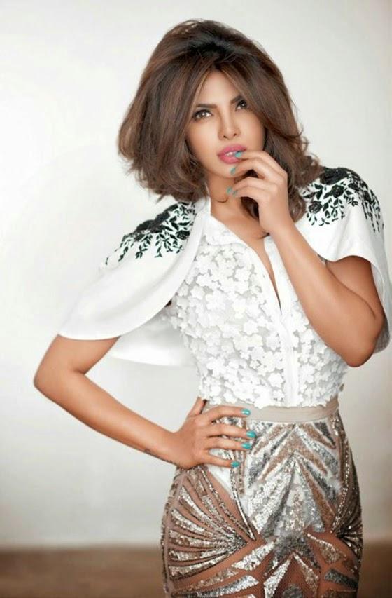 Priyanka Chopra Hot & Sexy Scans From Cosmopolitan India Magazine March 2015