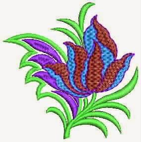 handgemaakte borduurwerk quilt ontwerp