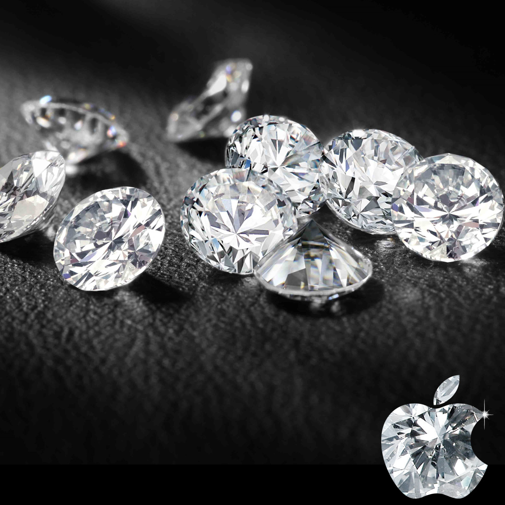 Jewelry Designs: Ipad Diamond Wallpaper